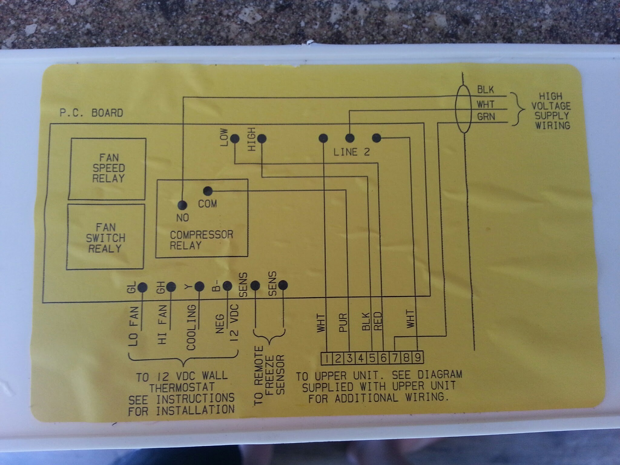 coleman rv air conditioner wiring diagram wiring diagram image marine ac wiring coleman mach rv air