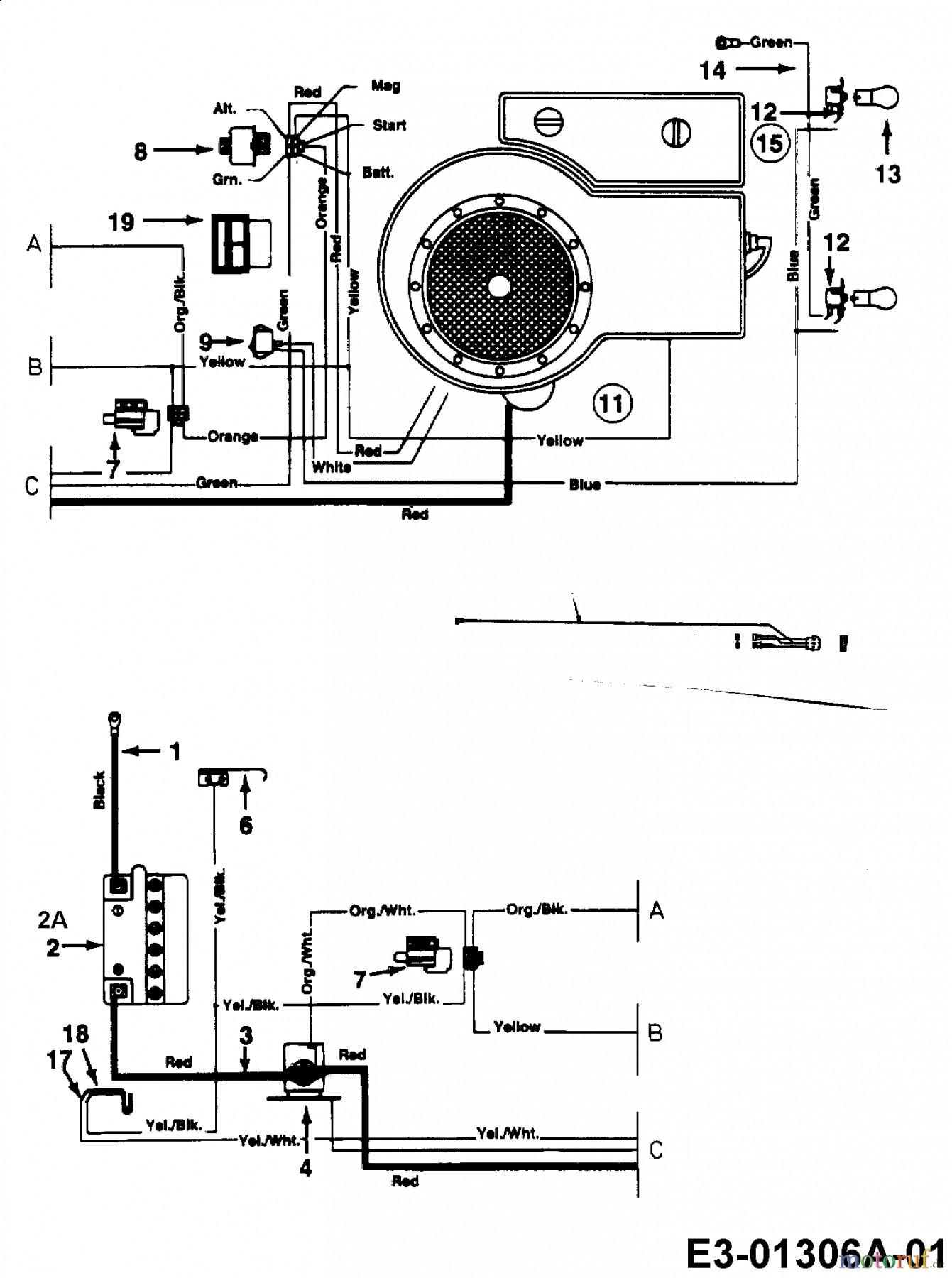 Craftsman Riding Mower Wiring Diagram | Wiring Diagram Image
