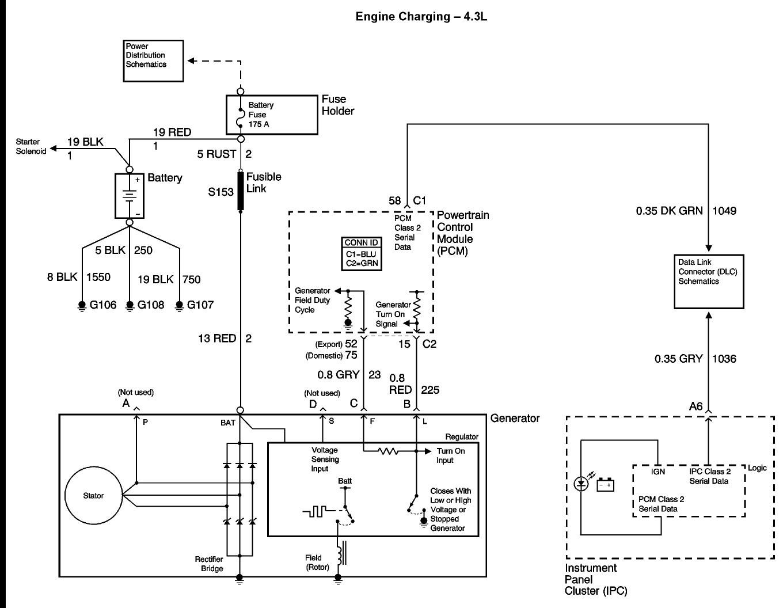 gm 4 wire alternator wiring diagram natebird me rh natebird me