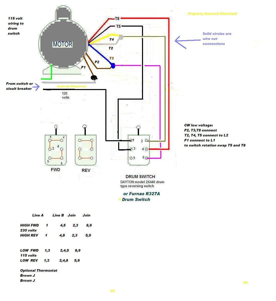 2014 02 05 Drum2x440and Leesonr9 Lead Motor Jpg Resized665 2C725 To Dayton Gear Wiring Diagram