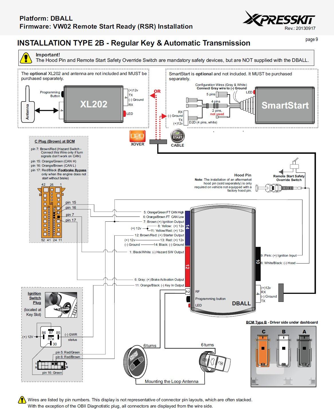 dball2 wiring diagram wiring diagram image rh mainetreasurechest com Dball2 Bypass Module Wiring Diagram dball2 remote start wiring diagram