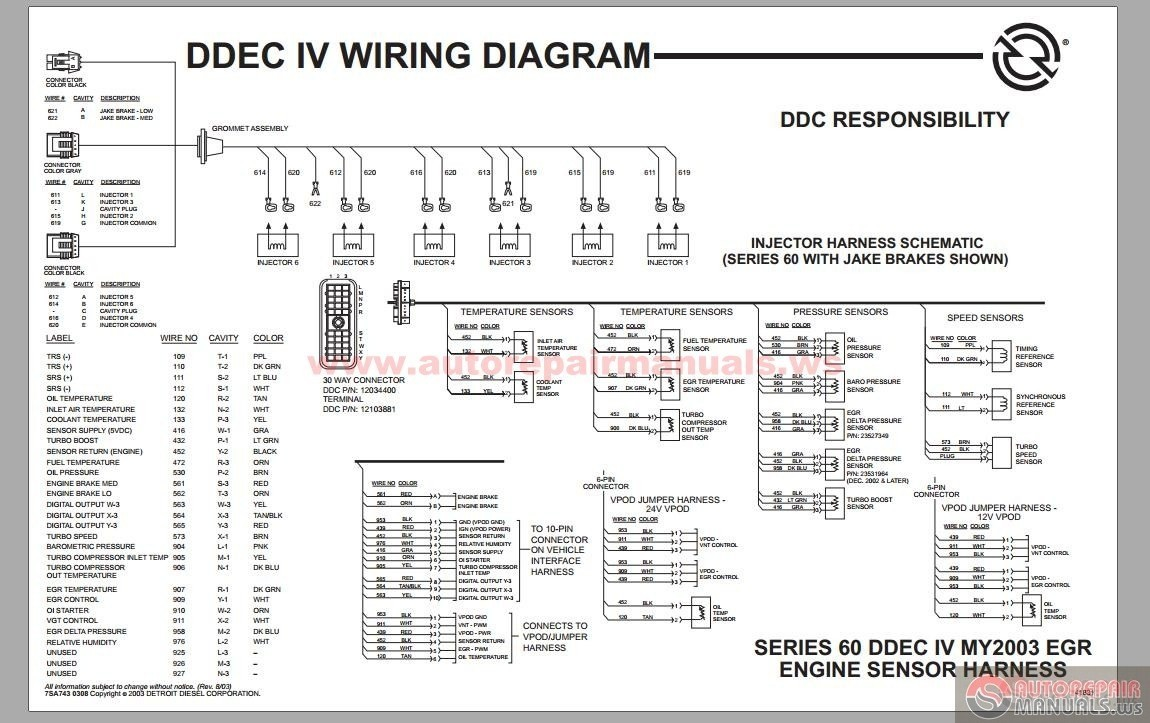 detroit diesel series 60 ecm wiring diagram new wiring diagram image rh mainetreasurechest com Detroit 60 Series Fuel Diagram 60 Series Detroit Wiring Harness