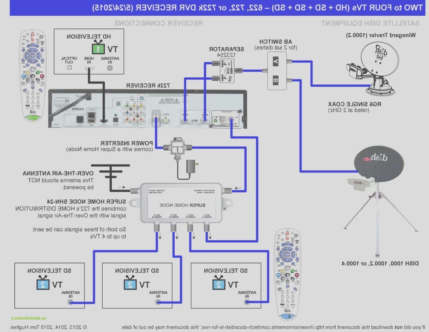 wiring schematic of dish