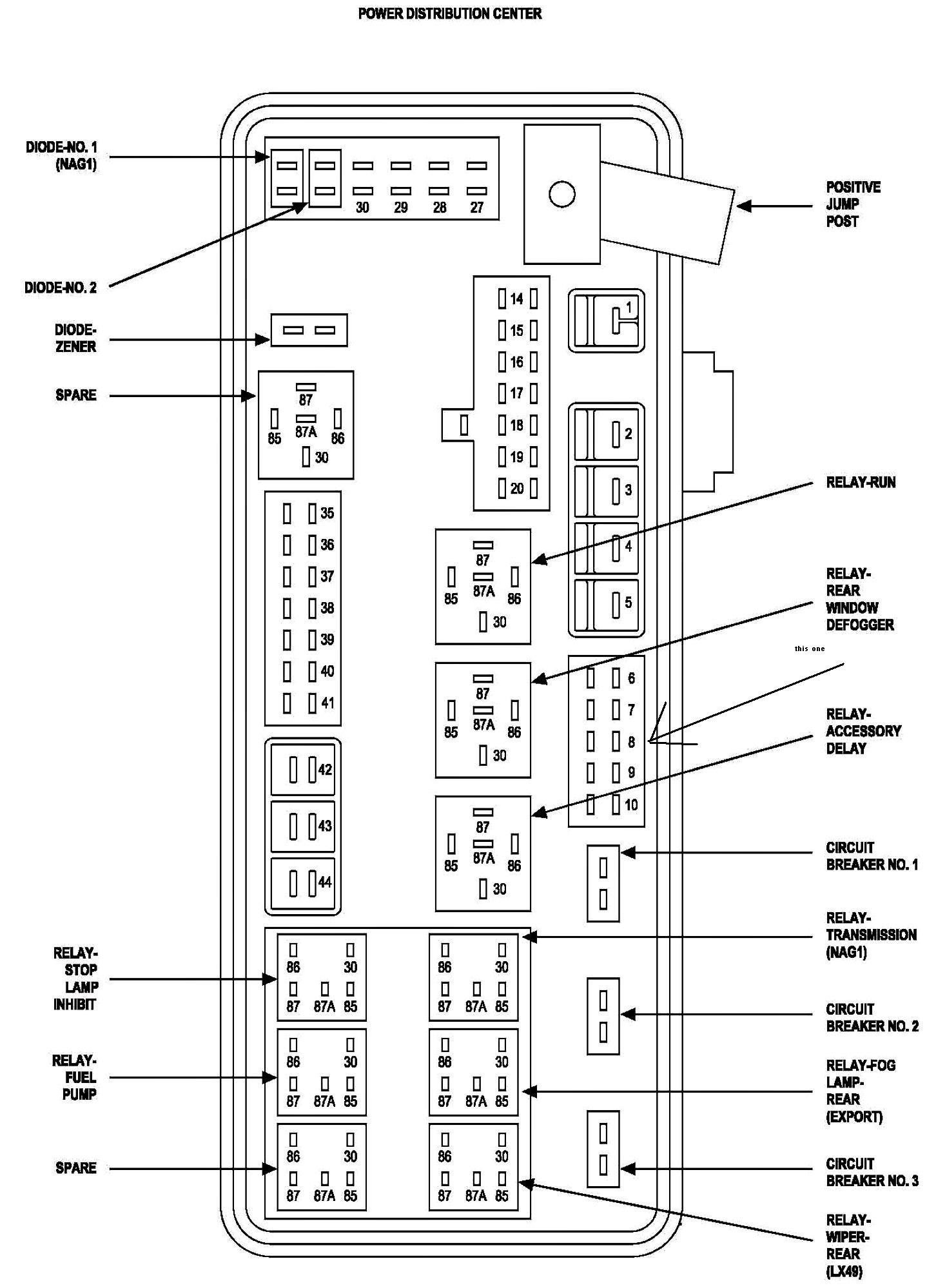 964db4b 07 dodge ram wiring diagram | wiring library  wiring library