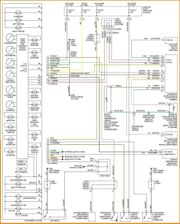 5 dodge ram wiring diagram