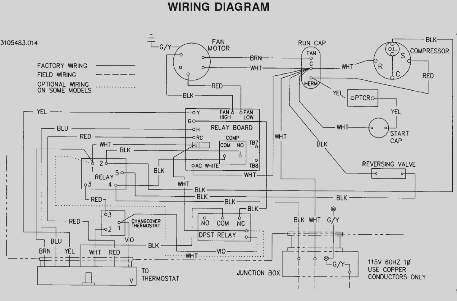 WRG-9159] Fan Coil Thermostat Wiring Diagram