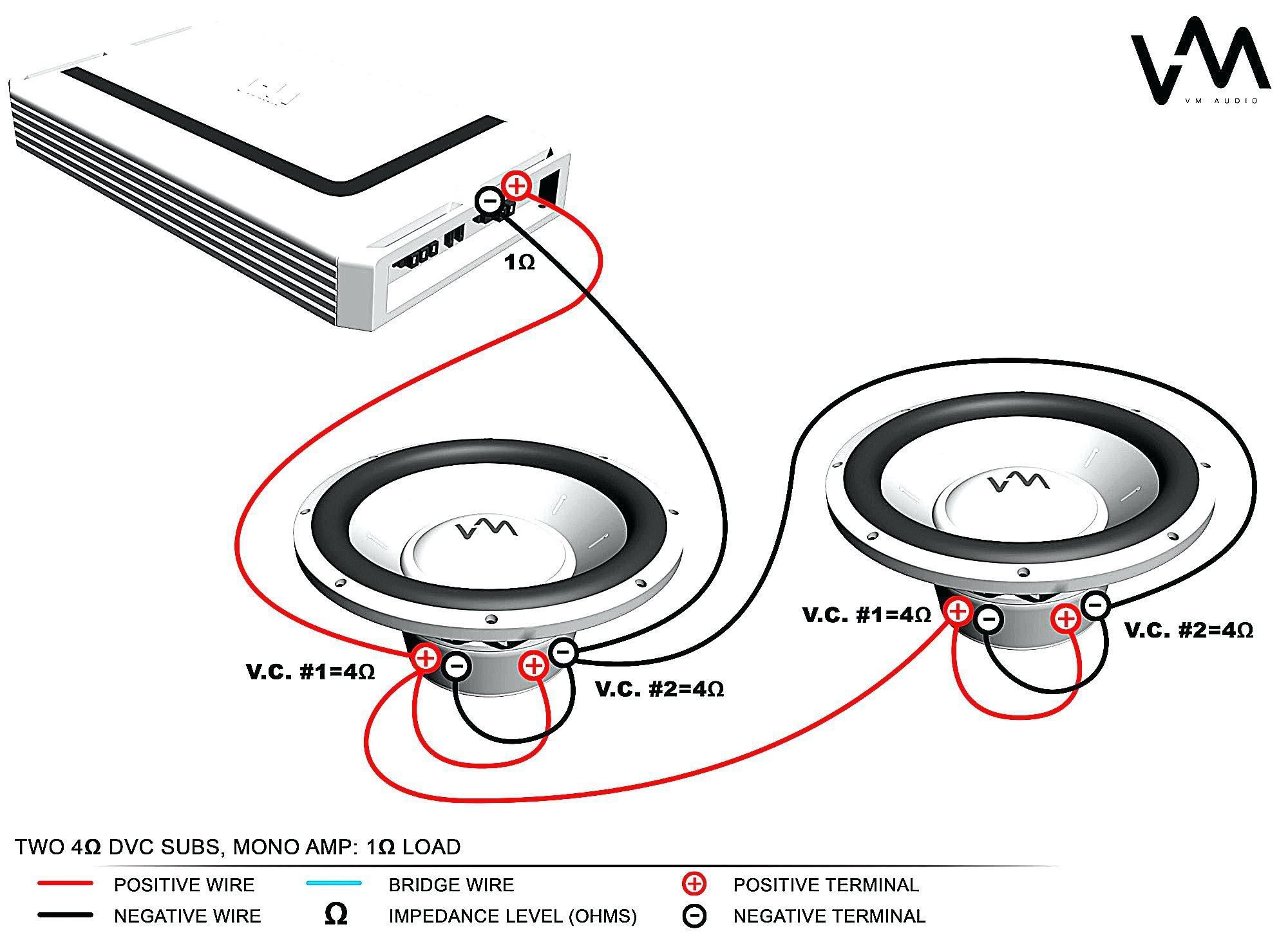 Dual Voice Coil Wiring Diagram Wiring Diagram Image