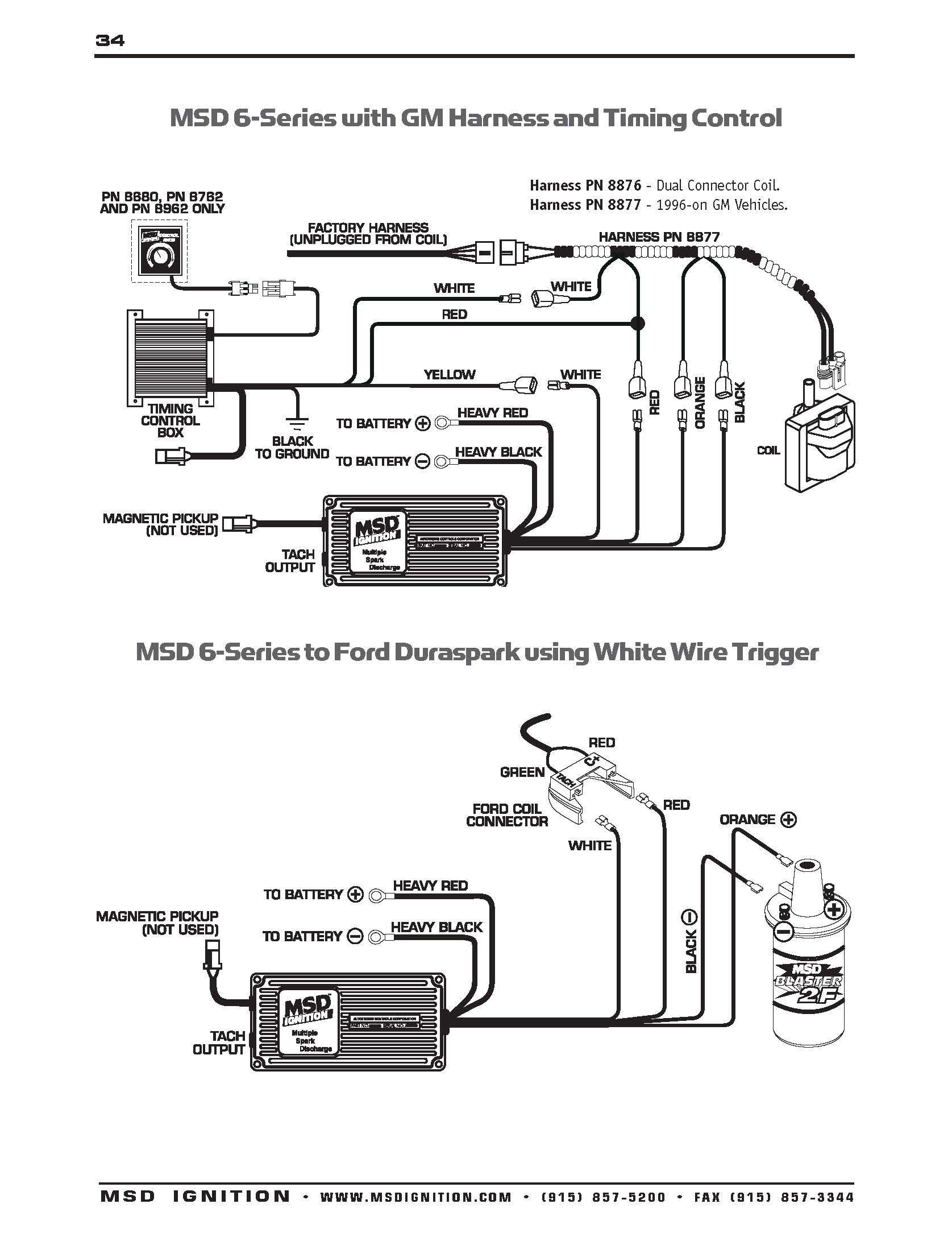Duraspark 2 Wiring Diagram Unique Msd 8920 Wiring Diagram Wiring Diagrams  Schematics Duraspark 2 Wiring