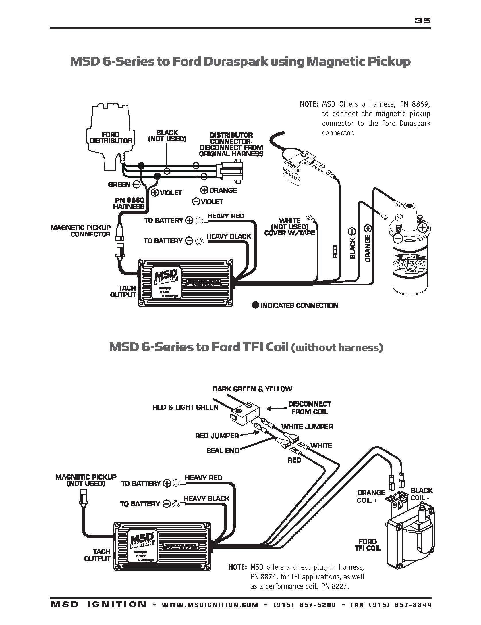 Duraspark 2 Wiring Diagram Beautiful ford Msd 6al Wiring Diagram Wiring Diagram Best Duraspark