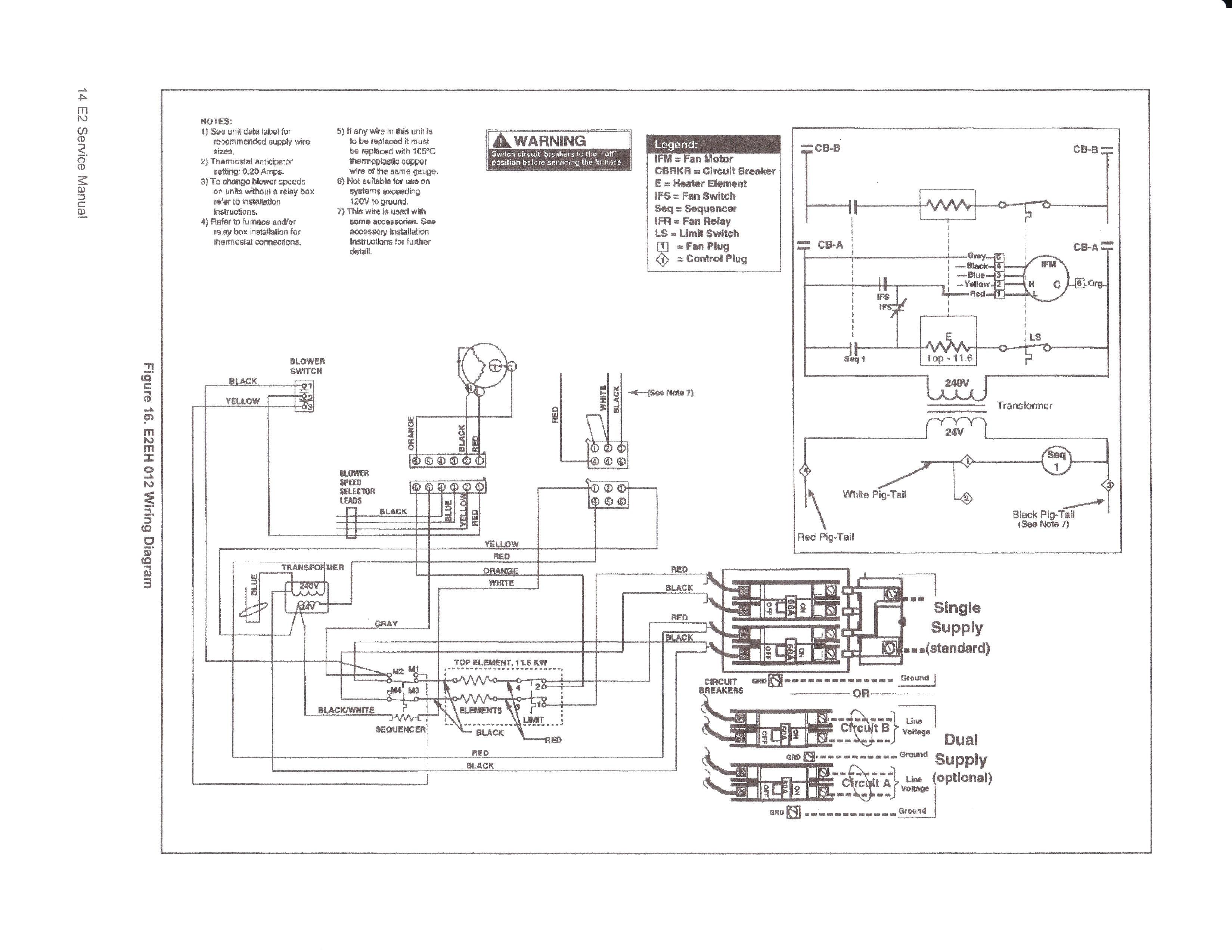 Wiring Diagram Intertherm E2eb 012ha Mobile Home Bright 4 Wire For 20