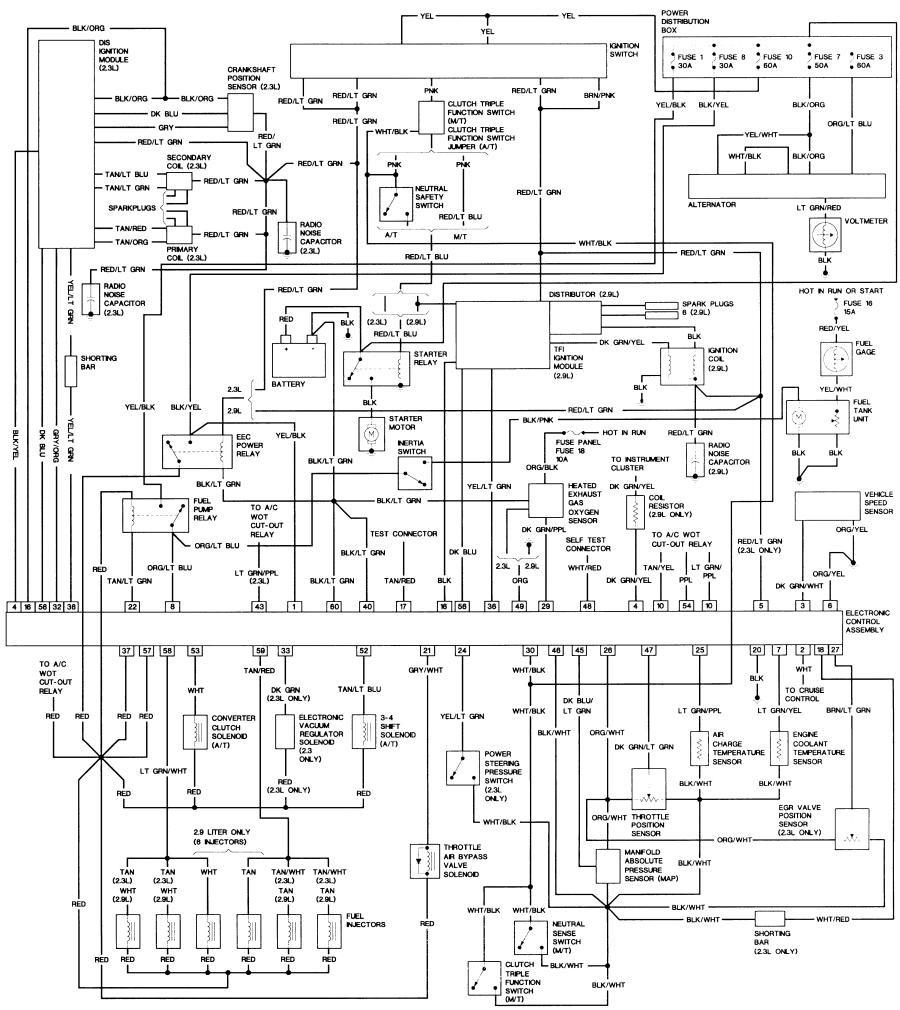 bronco ii wiring diagram stereo