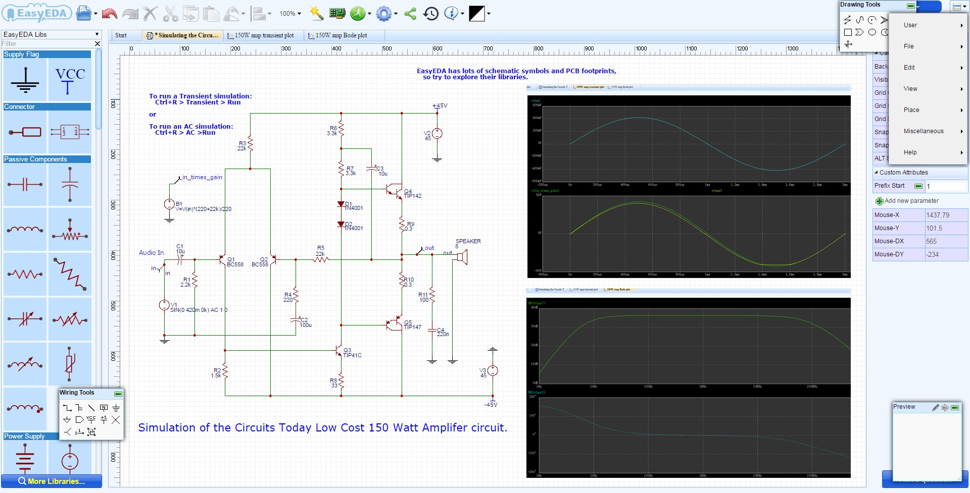 Electronic Circuit Design Easyeda Electrical Engineering List Of Best Online Simulator Gadgetronicx