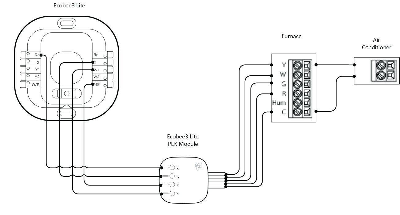 Ecobee Wiring Diagram Best Ecobee3 Wiring Diagram Best fortable Honeywell Humidifier Wiring