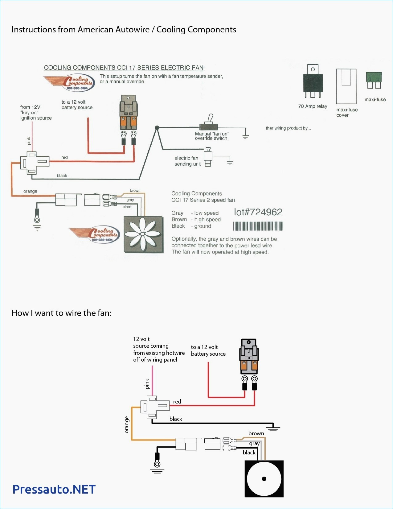 Spal Fan Wiring Diagram Free For You Ls1 Dual Relay Schematics Rh Ksefanzone Com Cooling
