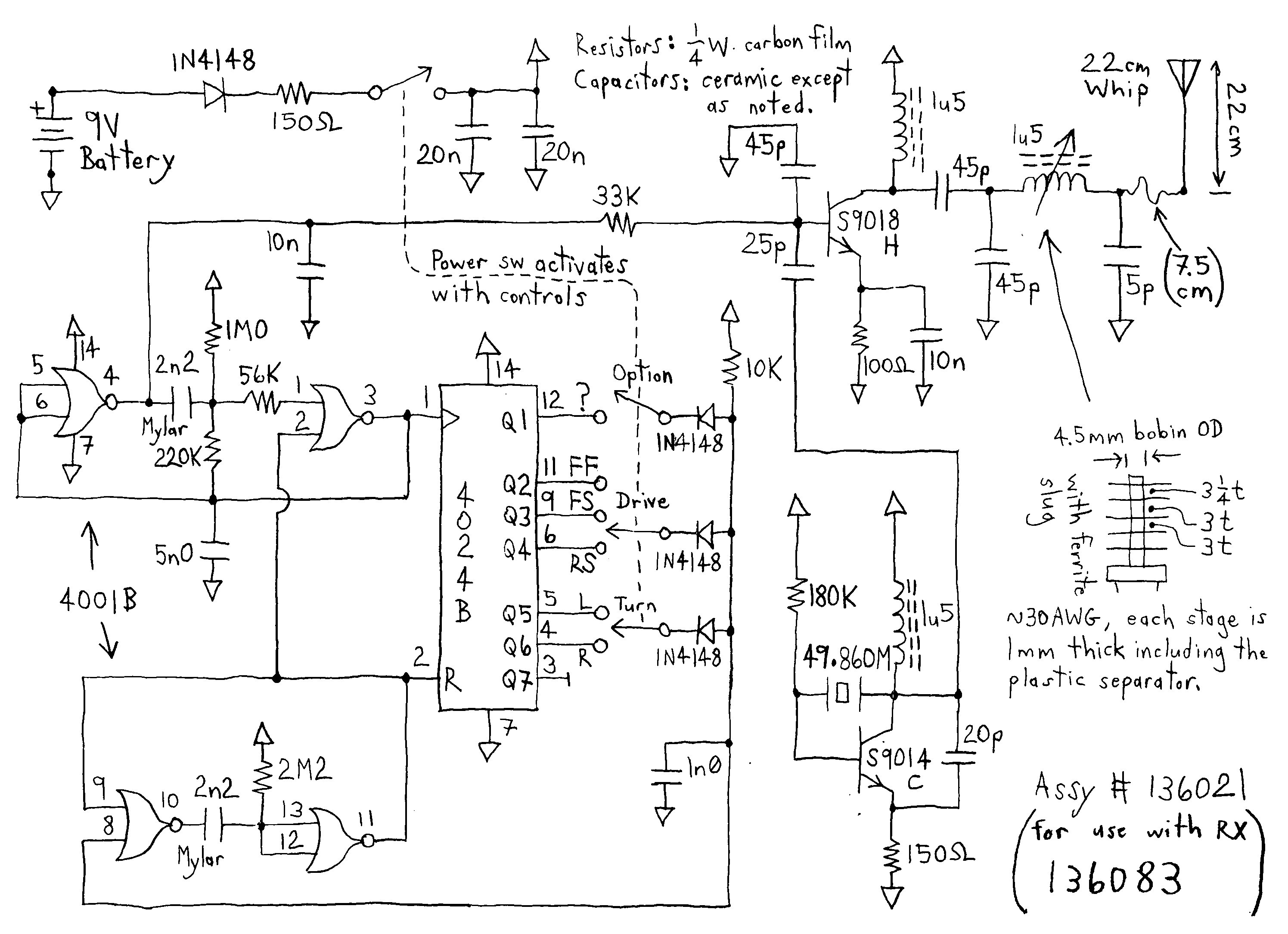 Electric toy car wiring diagram wiring diagram image home wiring diagrams electric rc car diagram four five channel rc cars tx and rx circuits cheapraybanclubmaster Gallery