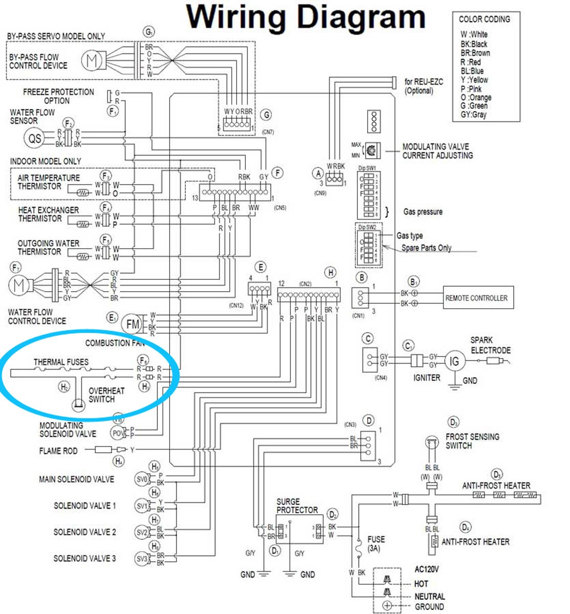Check the electric troubleshoot from 2008 pdf Tankless gas water heater