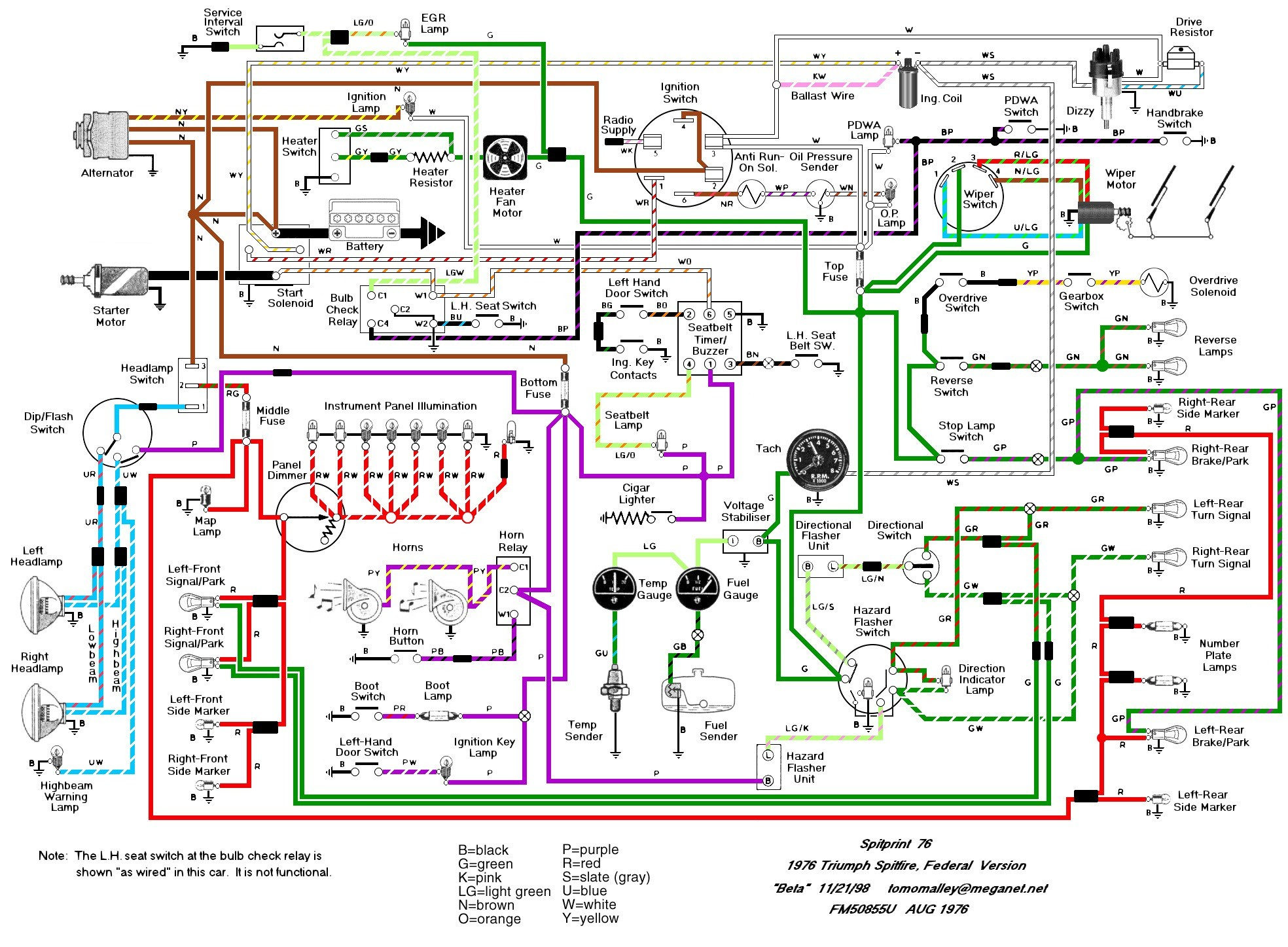 Free Electrical Diagram software New Tr6 Wiring Schematic Wiring Diagram