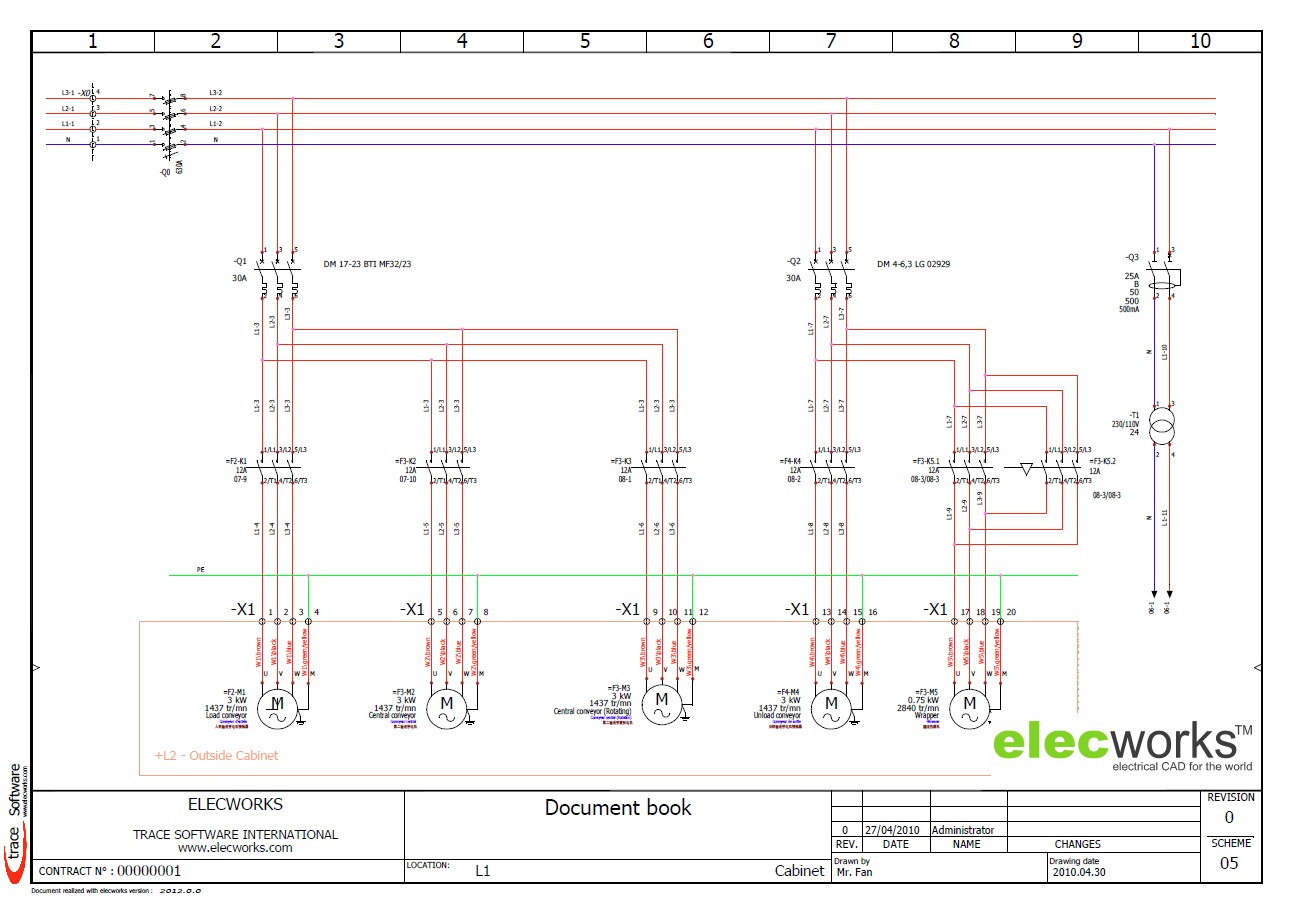 power control schematics elecworks electrical wiring diagram software free