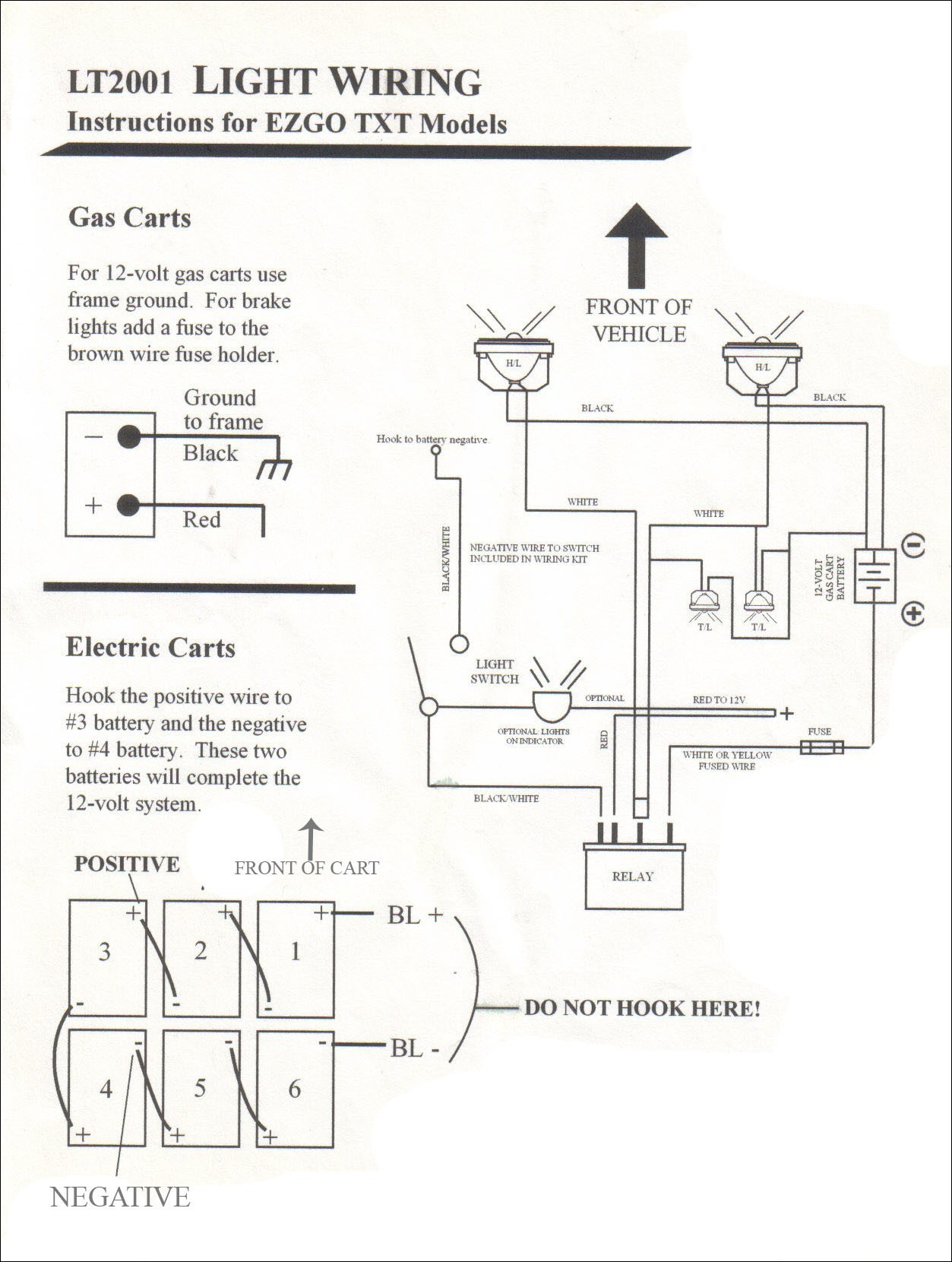 2002 Ez Go Golf Cart Wiring Diagram | Wiring Liry M Ezgo Wiring Diagram on
