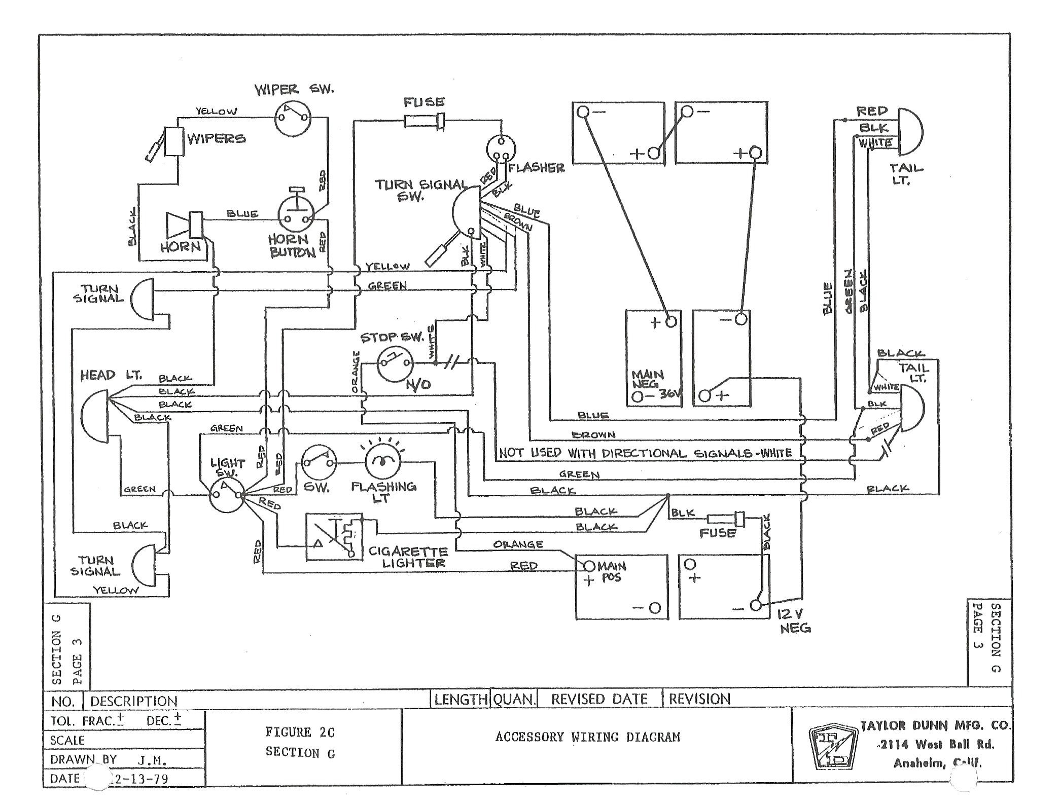 Ez Go Electric Golf Cart Wiring Diagram | Wiring Diagram Image