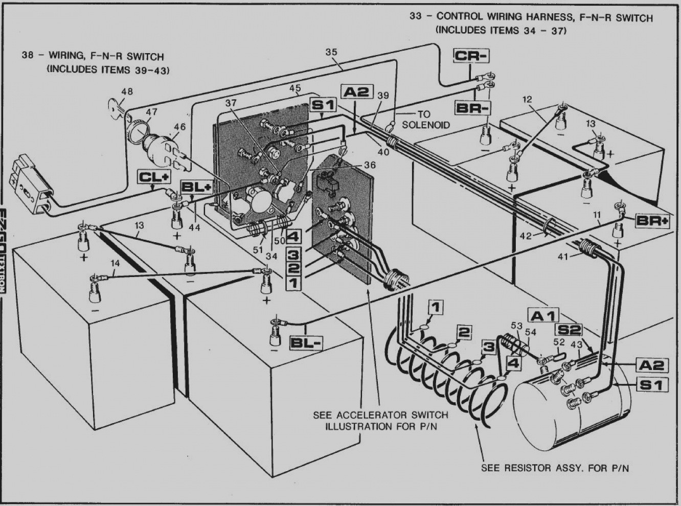 melex golf cart wiring harnesse wiring diagram 1999 Melex Golf Cart Battery Wiring Diagram melex golf cart wiring diagram