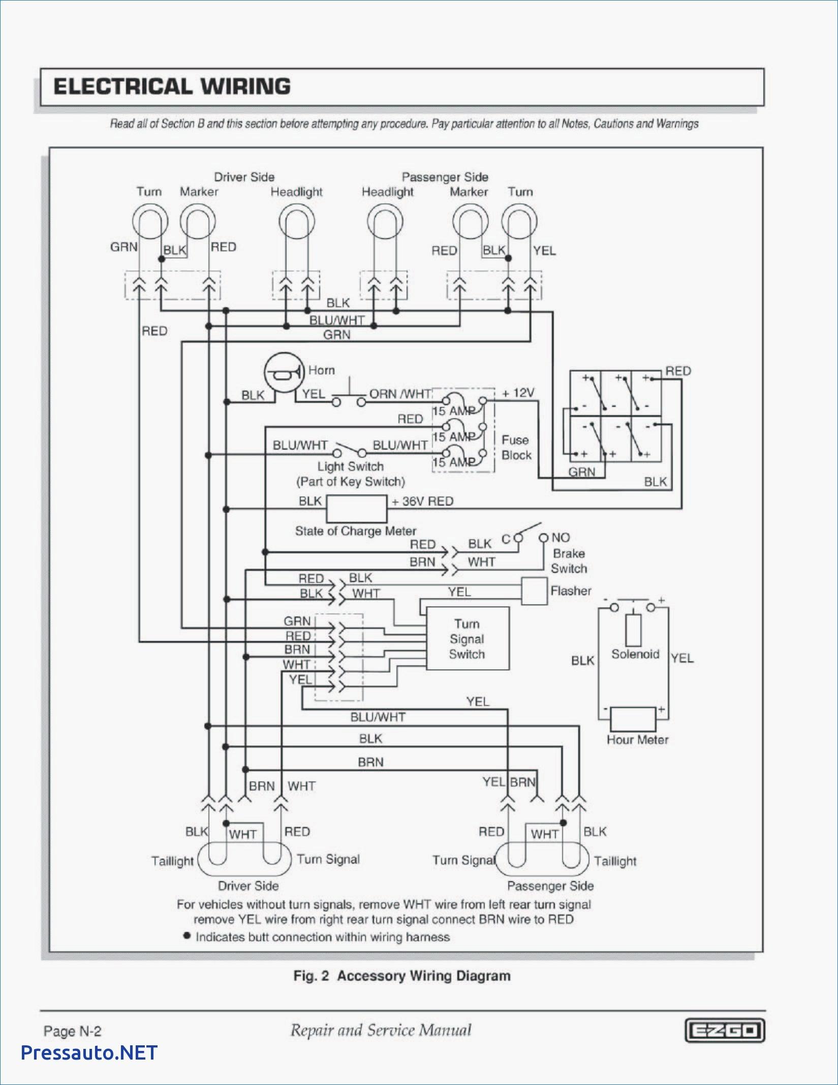 ez go golf cart lights wiring elegant wiring diagram image rh mainetreasurechest com EZ Go Golf Cart Wiring Diagram for 1998 EZ Wiring Schematics