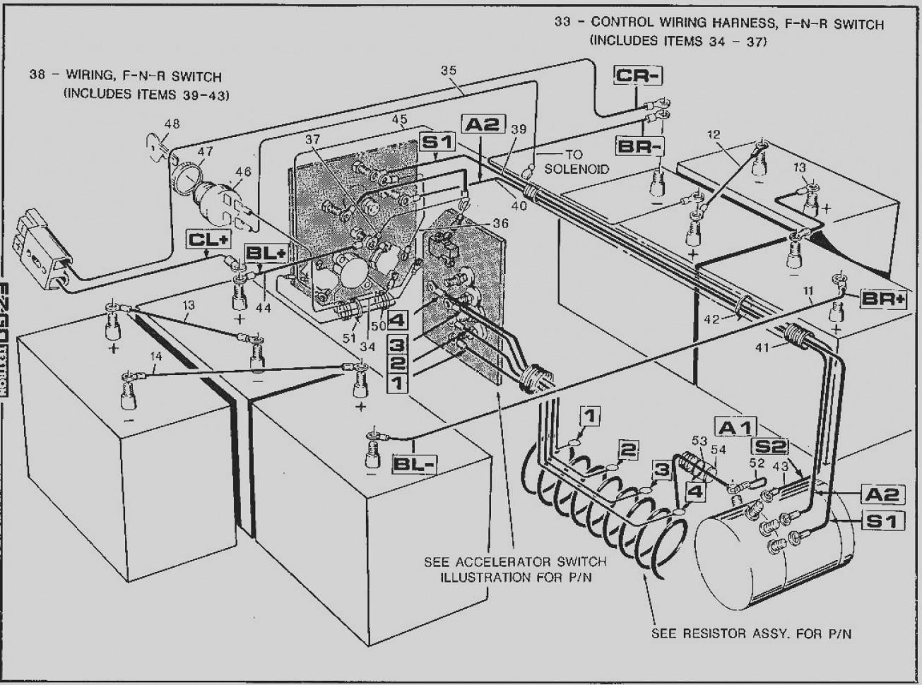 ez go golf cart wiring diagram pdf new