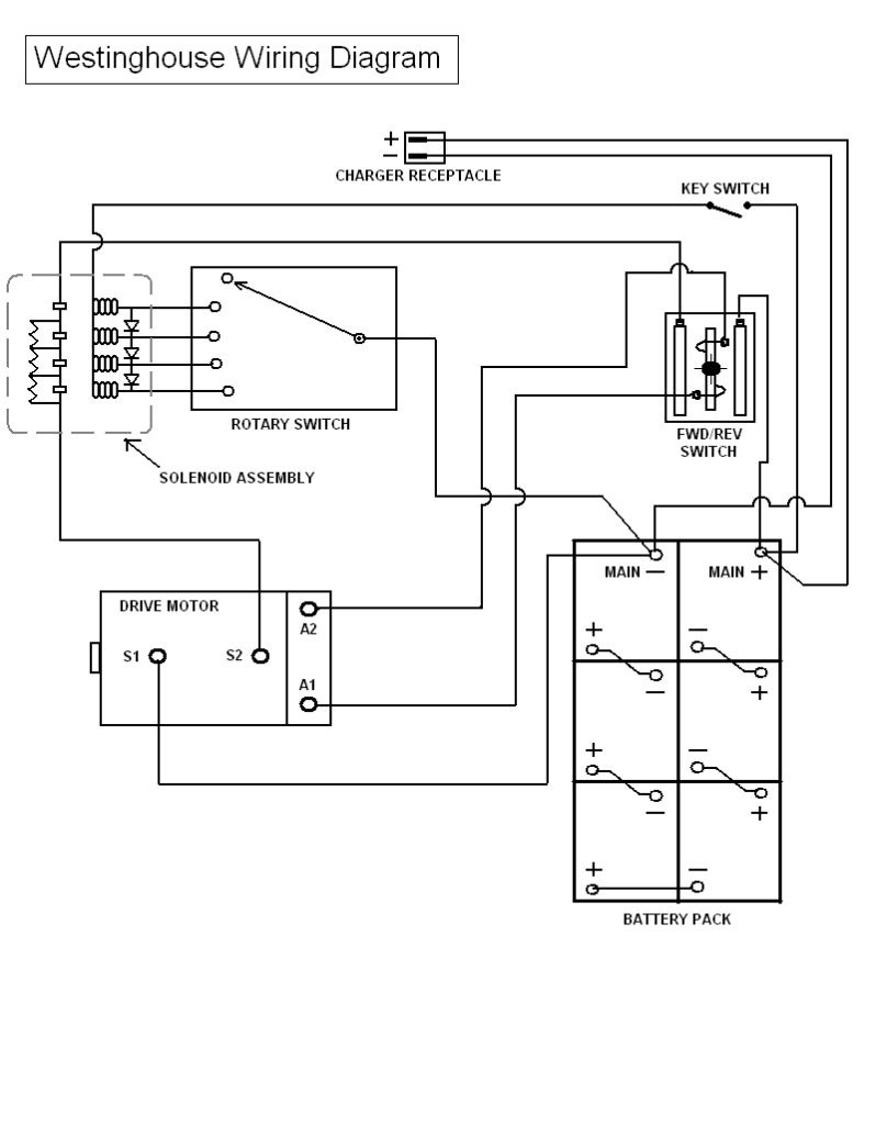Wiring Diagram For Ez Go Golf Cart Amazing 48 Volt In Battery