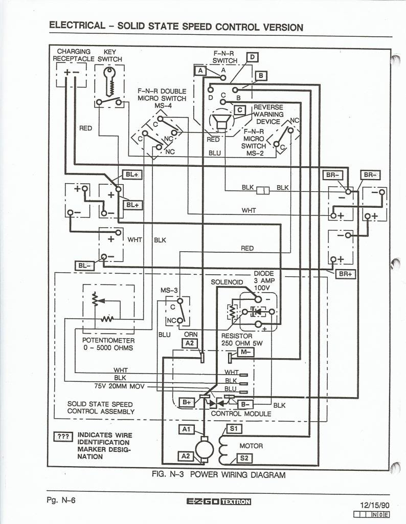 Ezgo Marathon Wiring Diagram For Wire B2network Co Within
