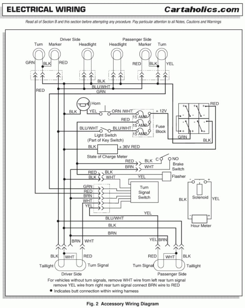Ezgo Txt Wiring Diagram New | Wiring Diagram Image