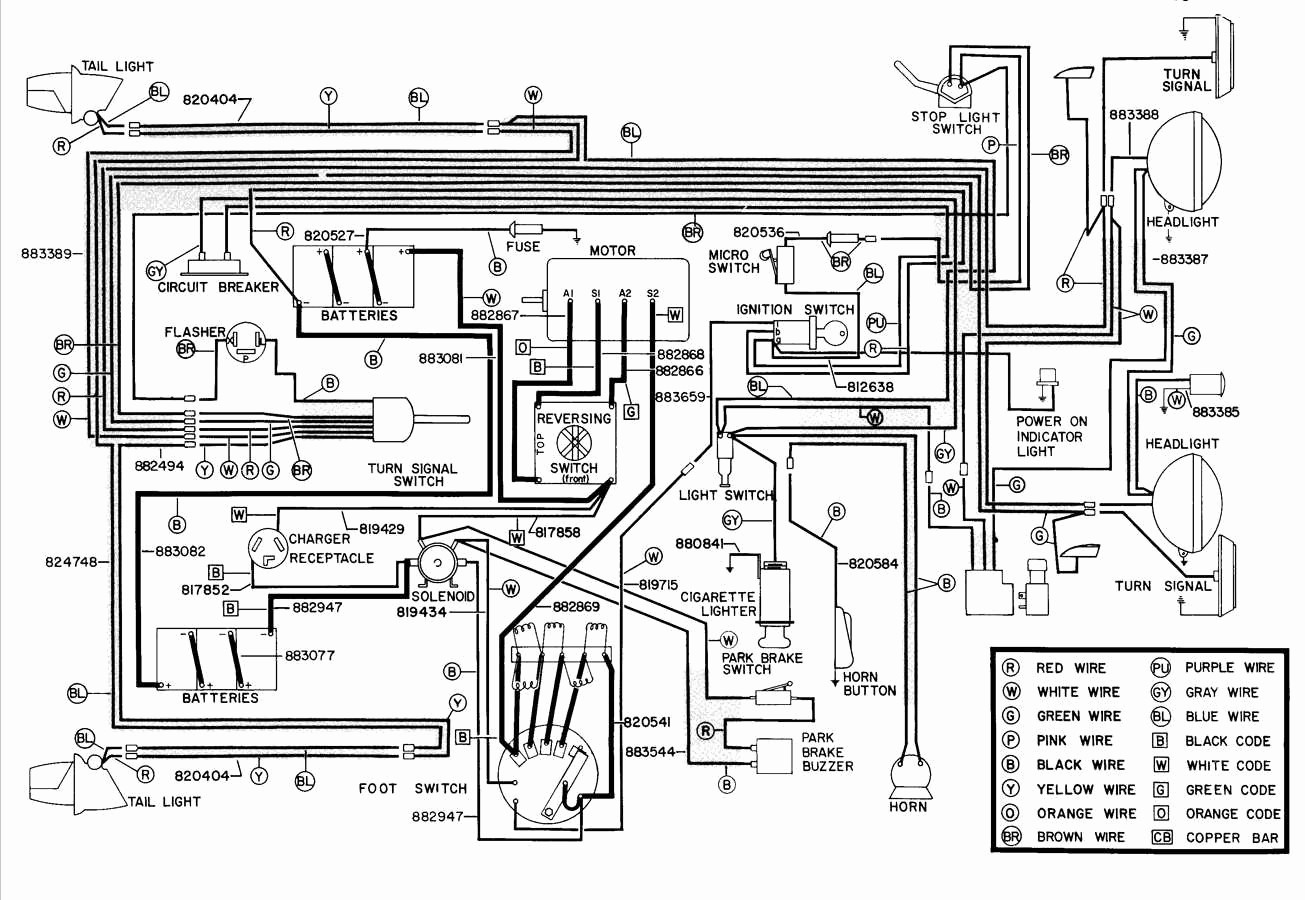 2009 Ezgo Rxv Wiring Diagram - WIRE Center •