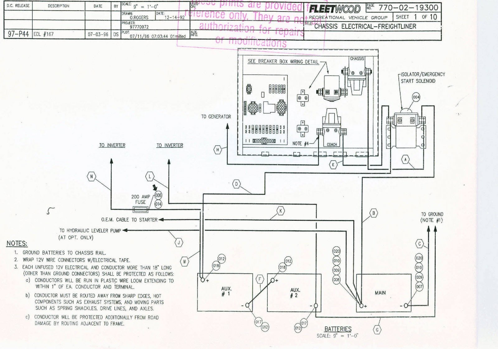 Fleetwood Rv Wiring Diagram For Slide Out Home Wiring Diagrams