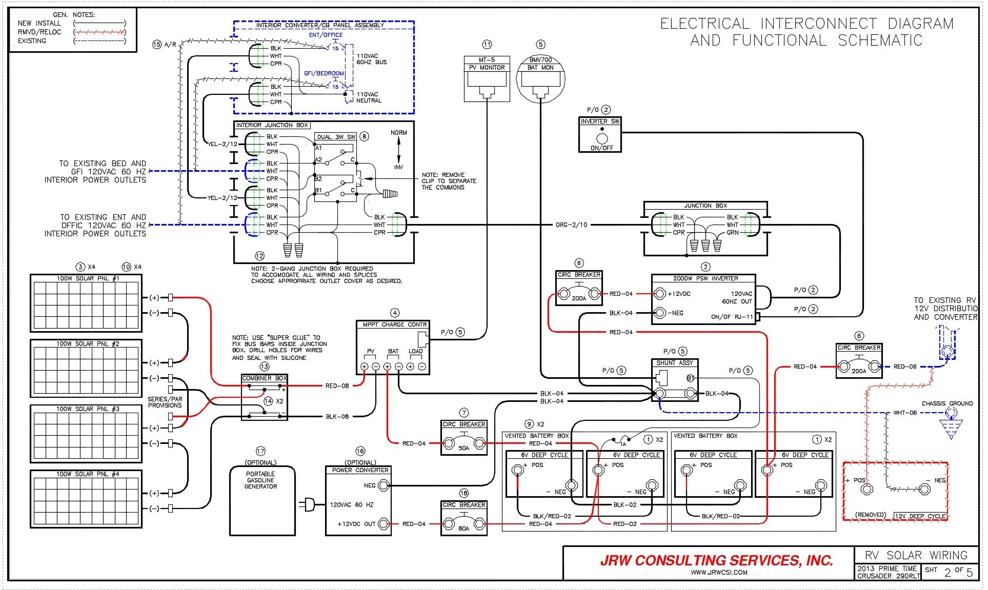 whole house generator wiring diagram awesome home wiring diagrams rv rh sixmonthsinwonderland 1995 Fleetwood Southwind