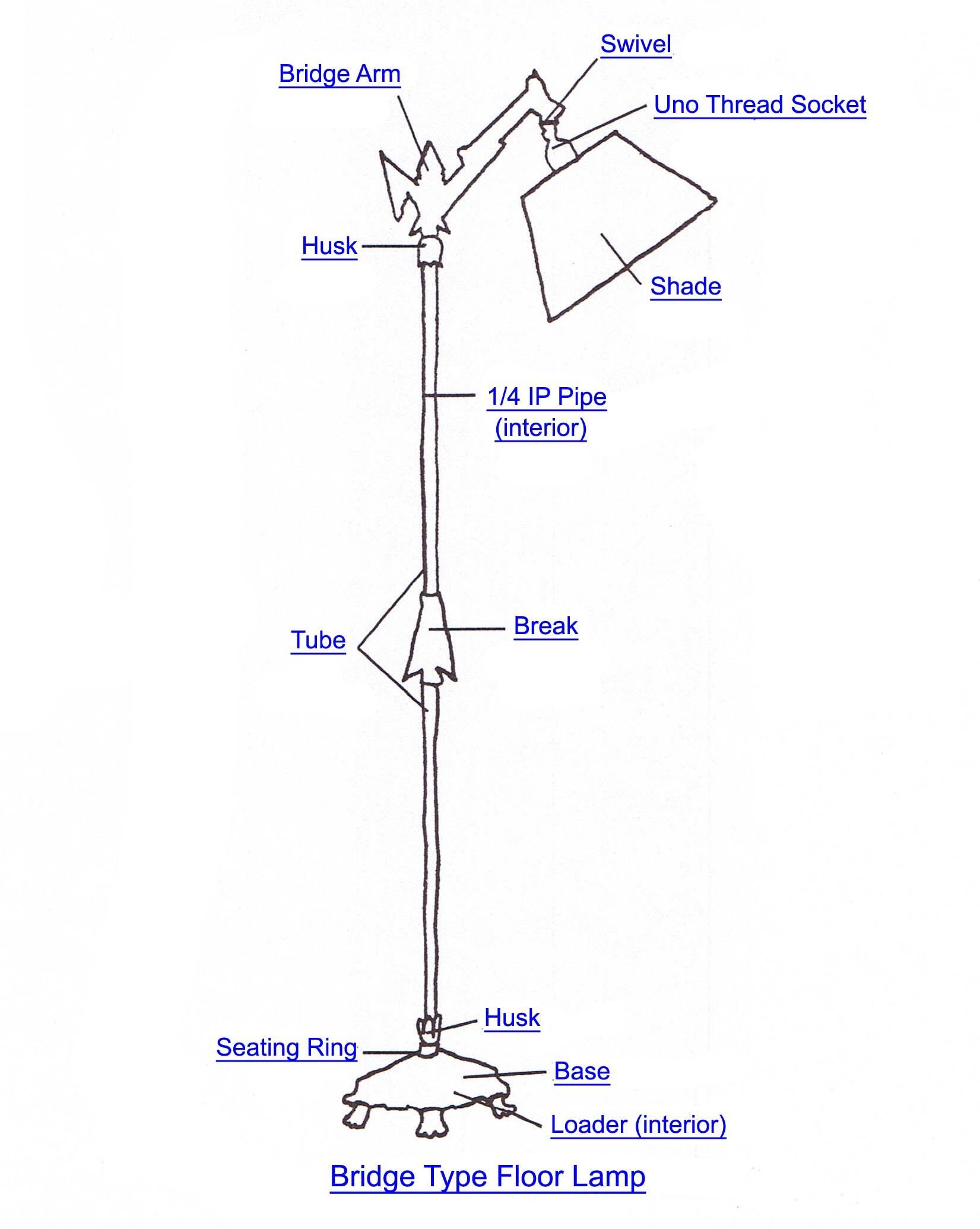 floor lamp wiring diagram wiring diagram image rh mainetreasurechest com Table Lamp Wiring Diagram wiring diagram for floor lamp