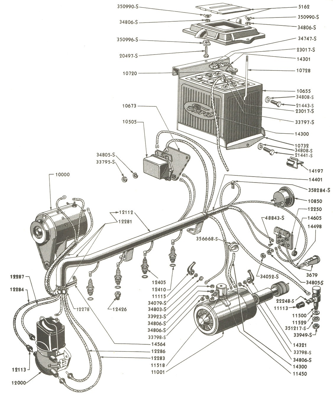 1954 ford 8n wiring diagram