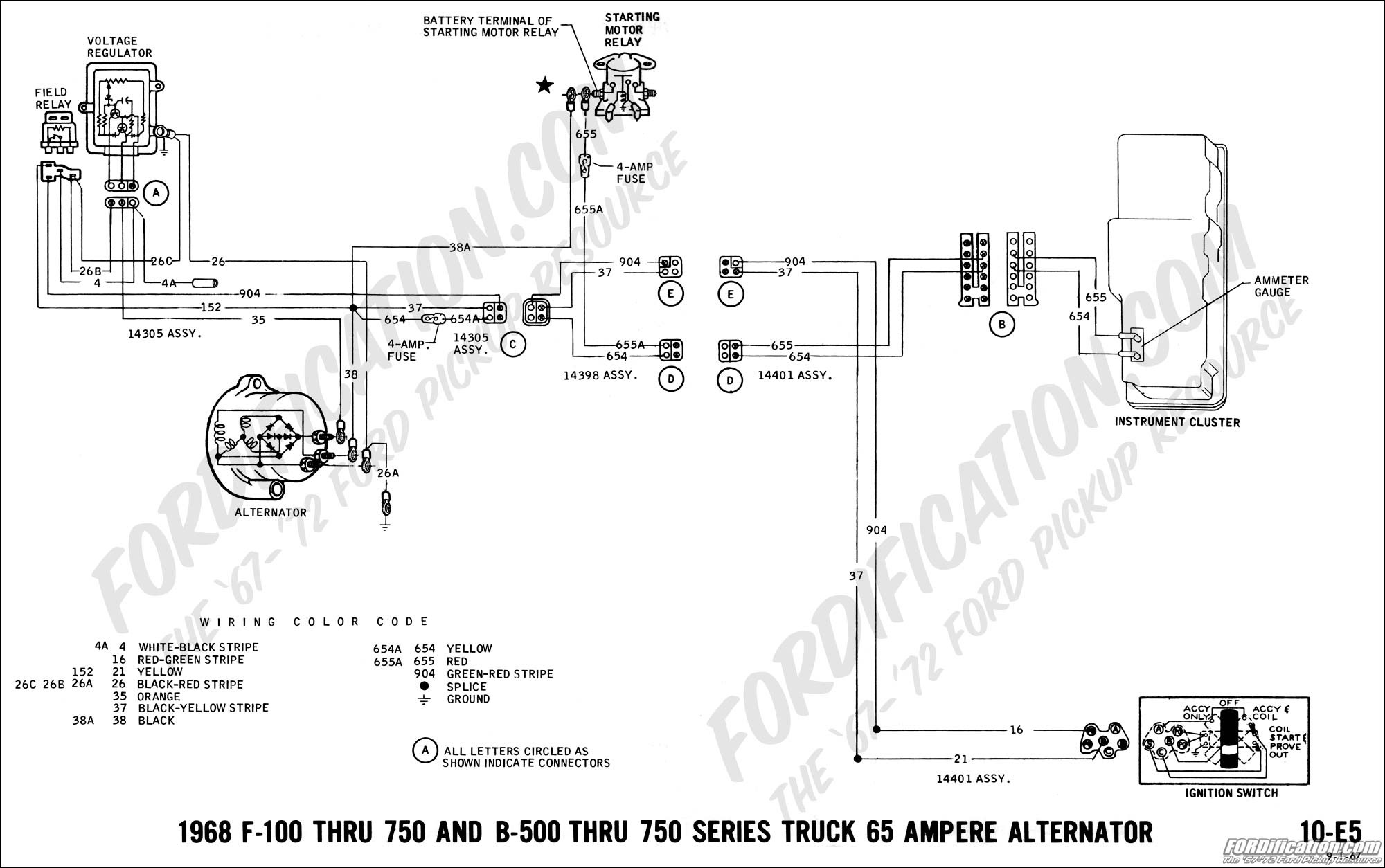 Alternator Wiring Diagram B+ D+ W from mainetreasurechest.com