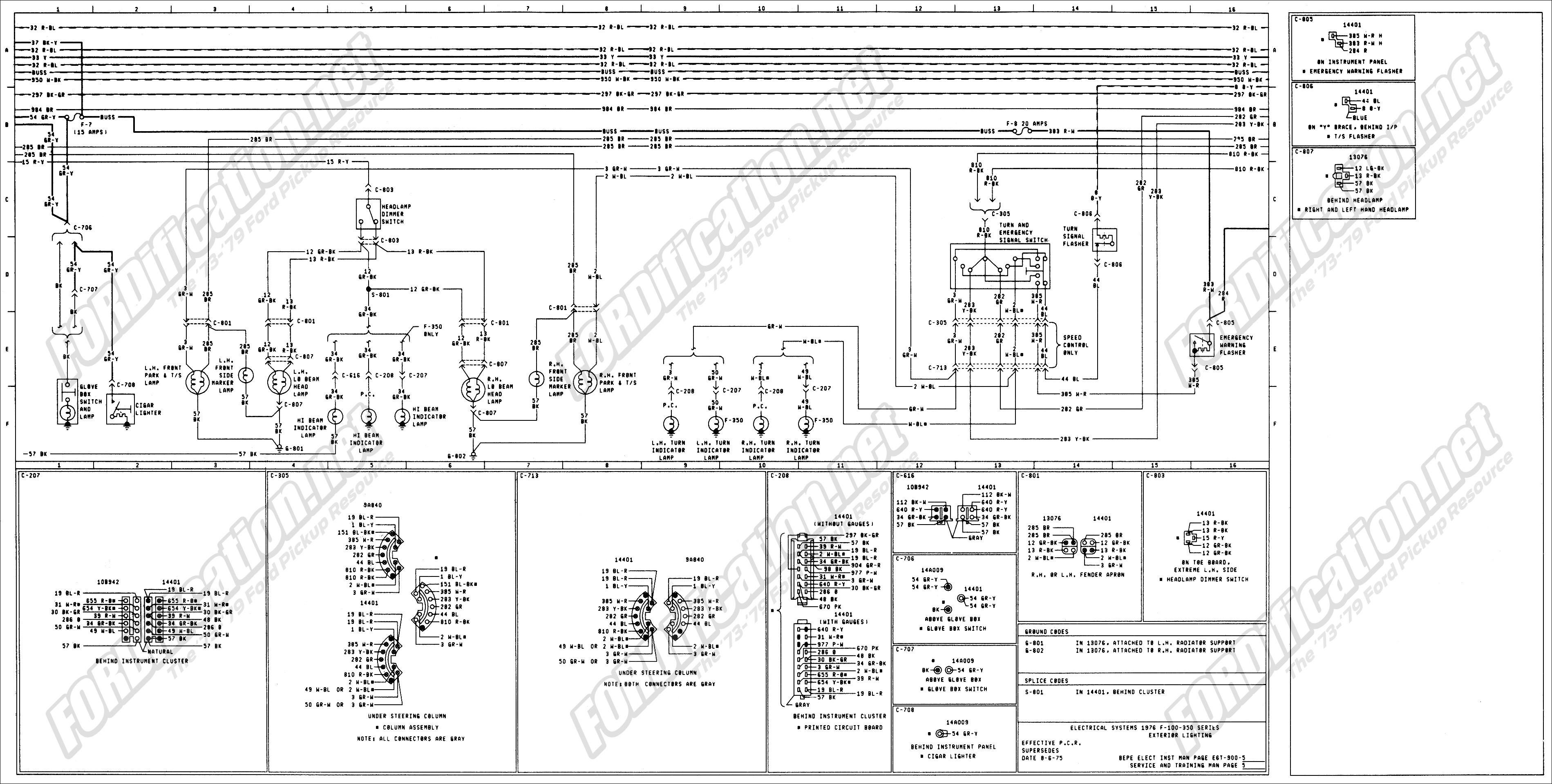 ford control module wiring