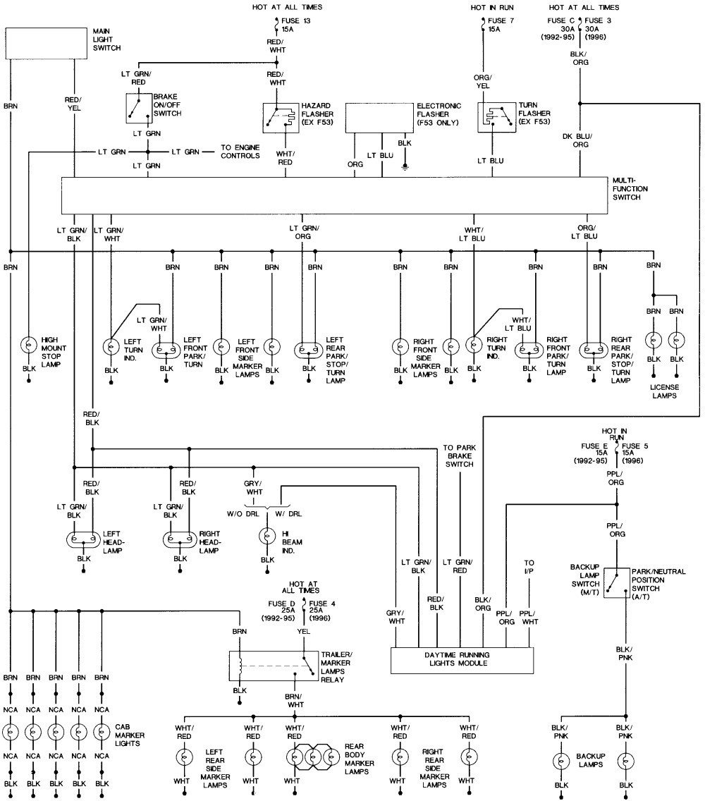 Brake Light Wiring Diagram New Wiring for License Plate Lights ford Truck Enthusiasts forums