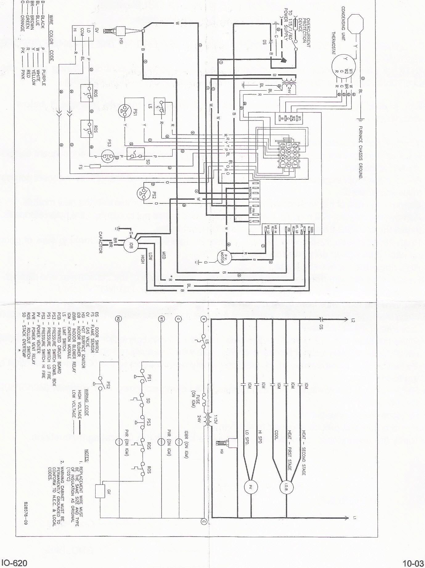 Goodman Ac Wiring Unique | Wiring Diagram Image