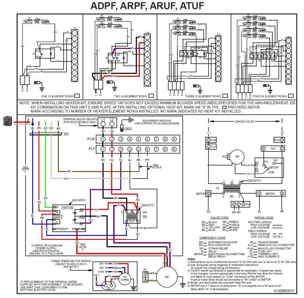 Goodman Run Capacitor Wiring Diagram Residential Electrical Symbols How To Wire Center U2022 Rh 66 42 83 38 Air Compressor Starter Electric Heat Pump