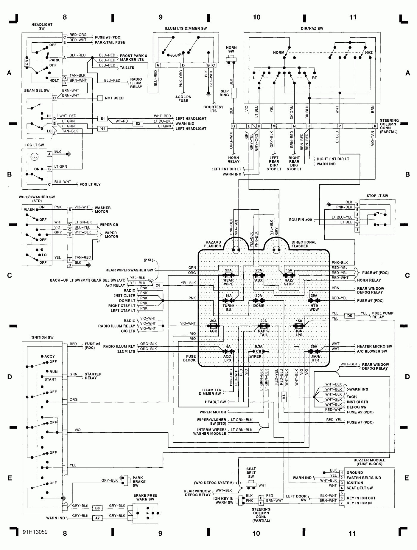 grote led lights wiring diagram