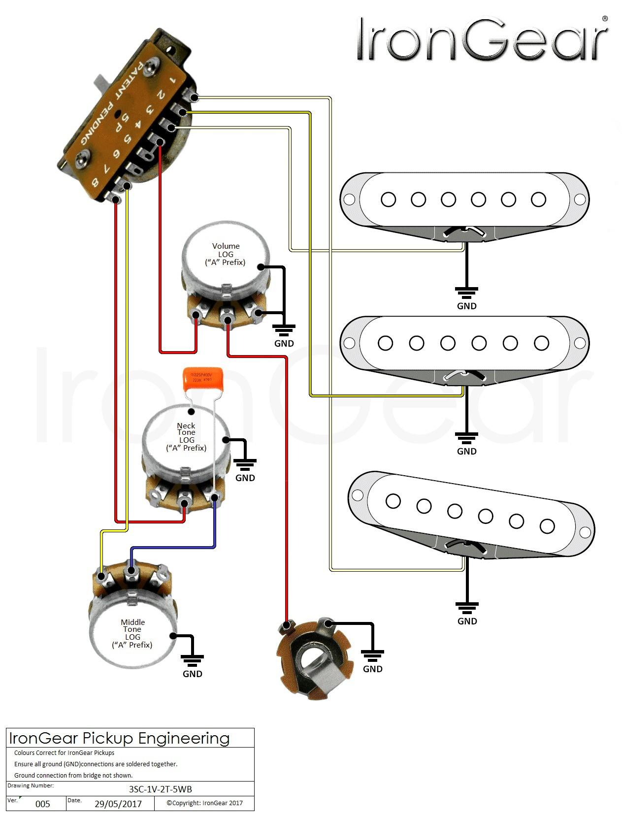 Wiring Diagrams Guitar Humbuckers Best Guitar Wiring Diagrams 2 Pickups Wiring Diagram Database