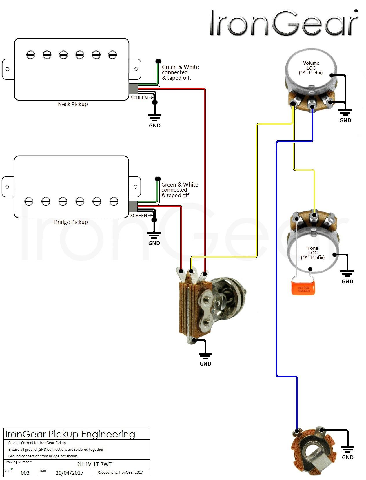 Electric Guitar Wiring Diagram e Pickup Inspirationa Guitar Wiring Diagrams 2 Pickups Wiring Diagram Database