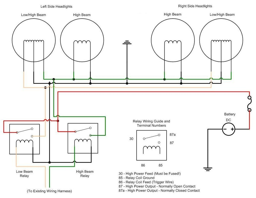 h4 wiring diagram wiring diagram image rh mainetreasurechest com Dimmer Switch Wiring Diagram Saab 9-3 Wiring-Diagram