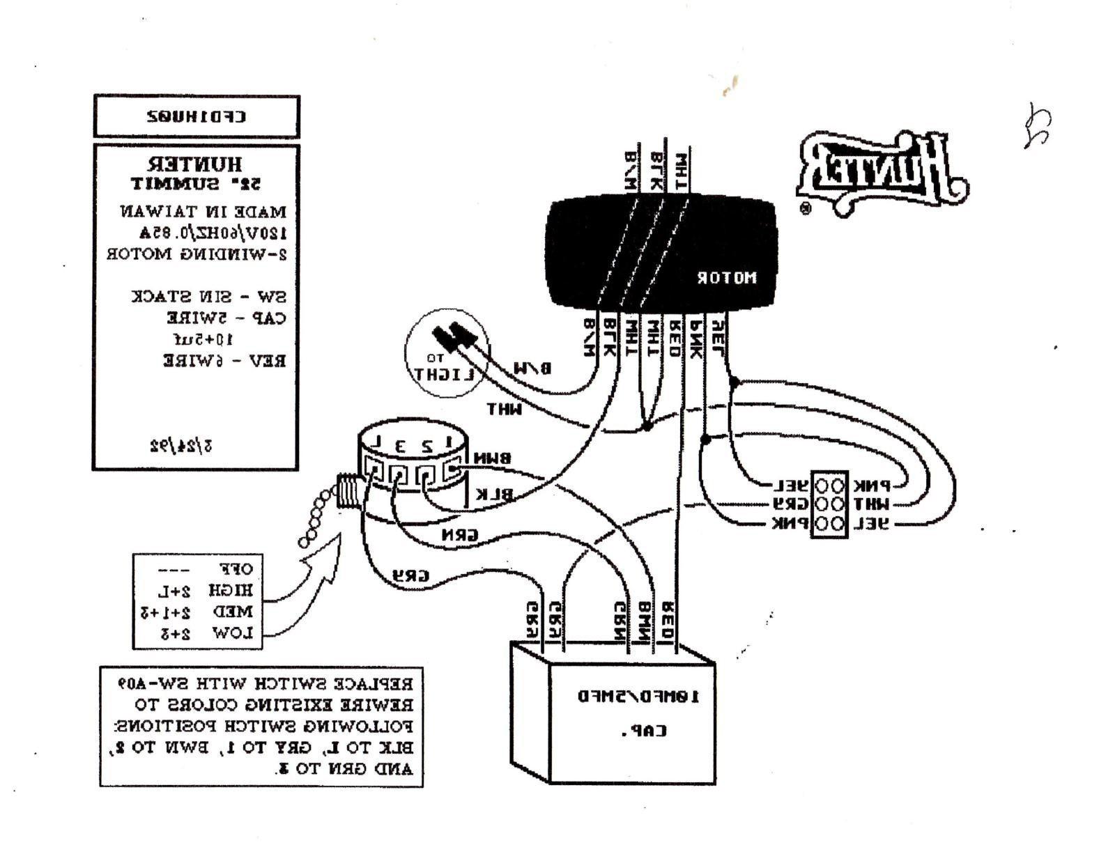 Hampton Bay Ceiling Fan Switch Wiring Diagram Best Hampton Bay 3 Speed Ceiling Fan Switch
