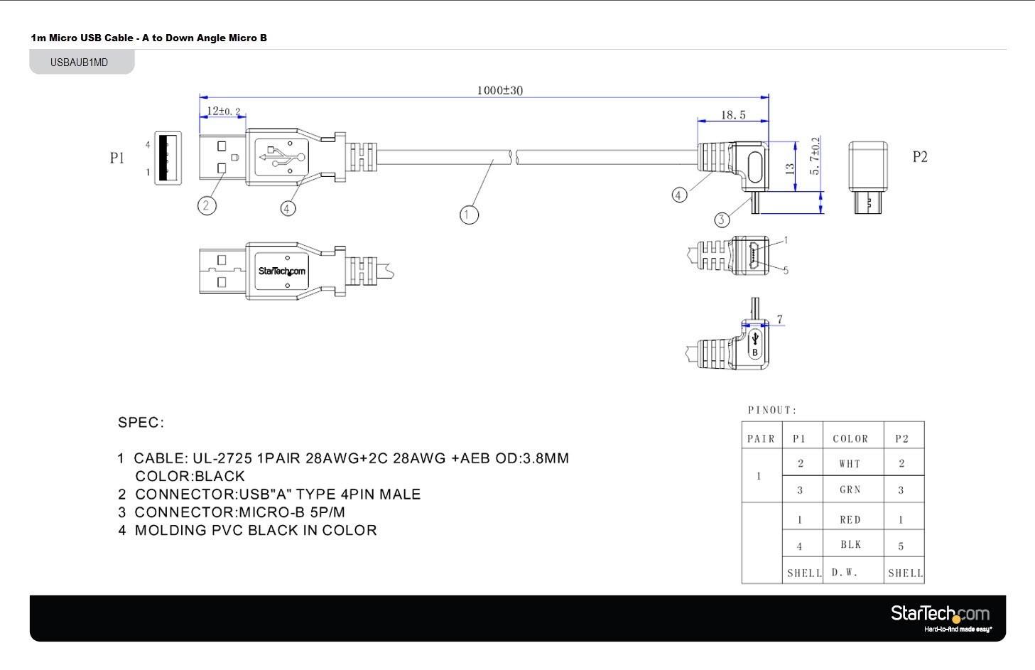 Cable Wire Diagram Unique Micro Usb to Hdmi Wiring Diagram
