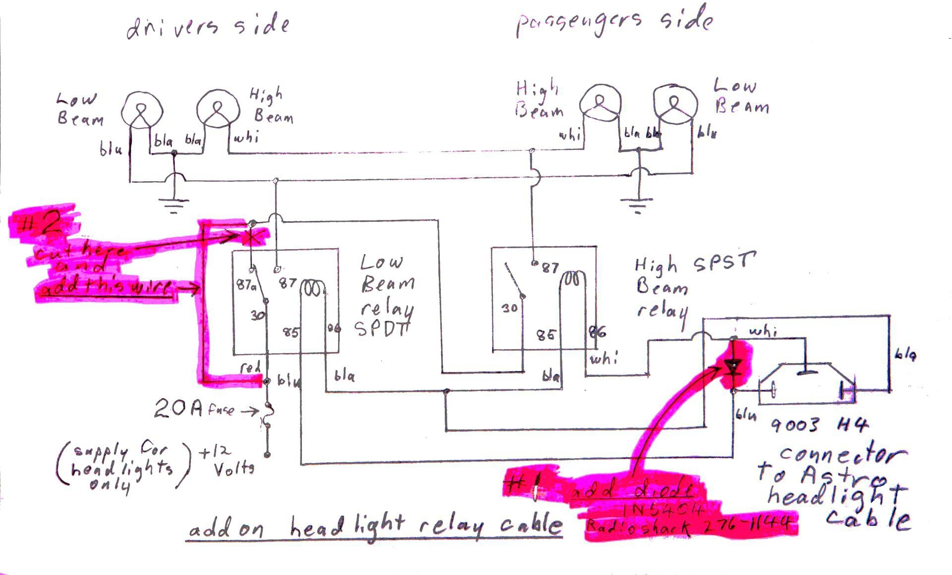 Headlight Relay Wiring Diagram New Magnificent Headlight Relay Diagram Ideas Electrical and Wiring