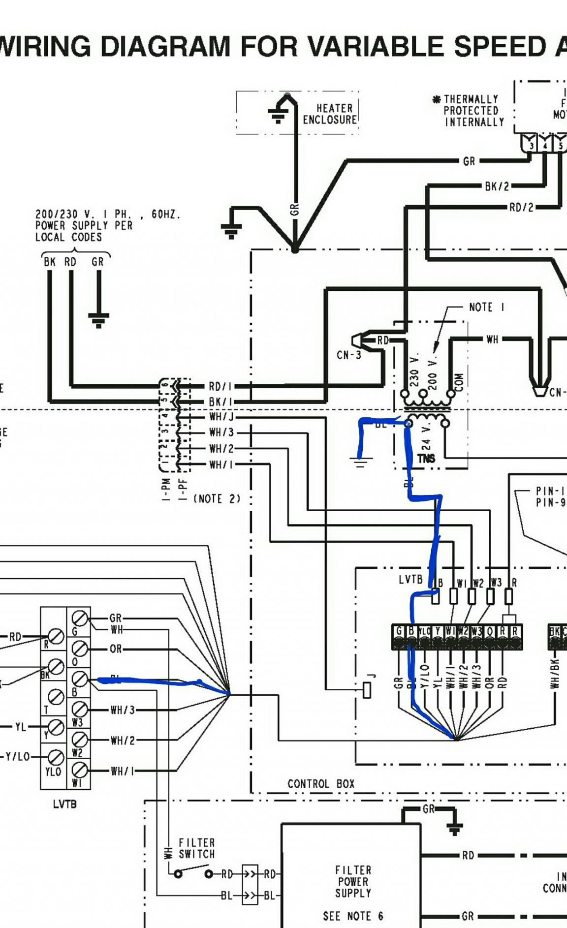 Goodman Air Handler Wiring Diagram Luxury Heat Pump With