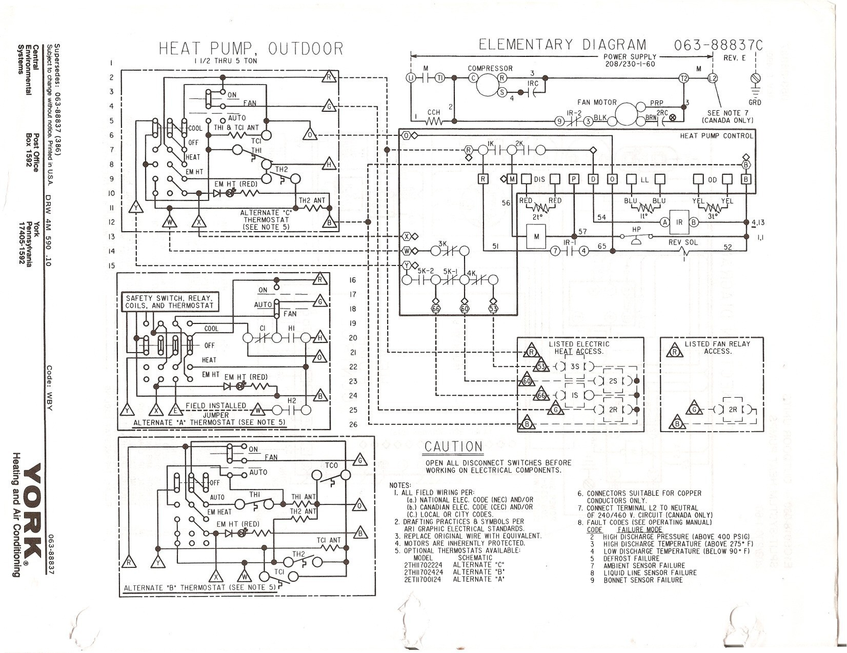 Inspirational Goodman Heat Pump Wiring Diagram