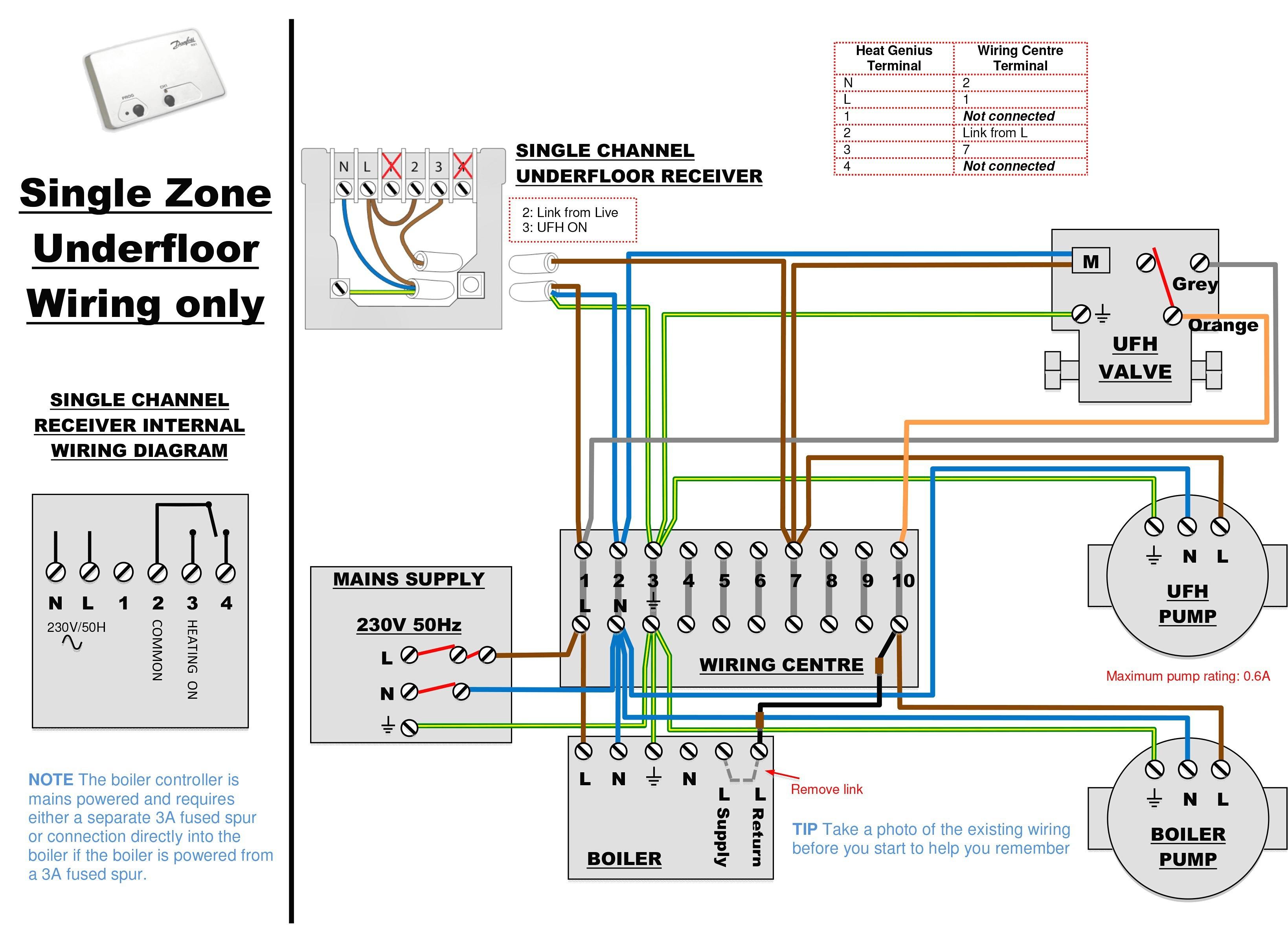 House Wiring Diagram Elegant Nice Underfloor Heating Wiring Diagram S Electrical Circuit